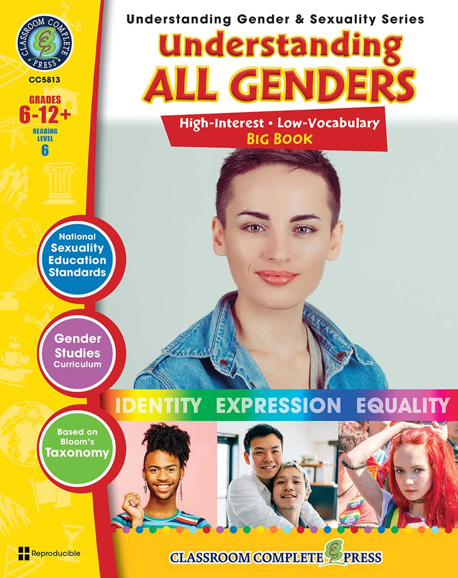Understanding All Genders Big Book Gr. 6-Adult - print book
