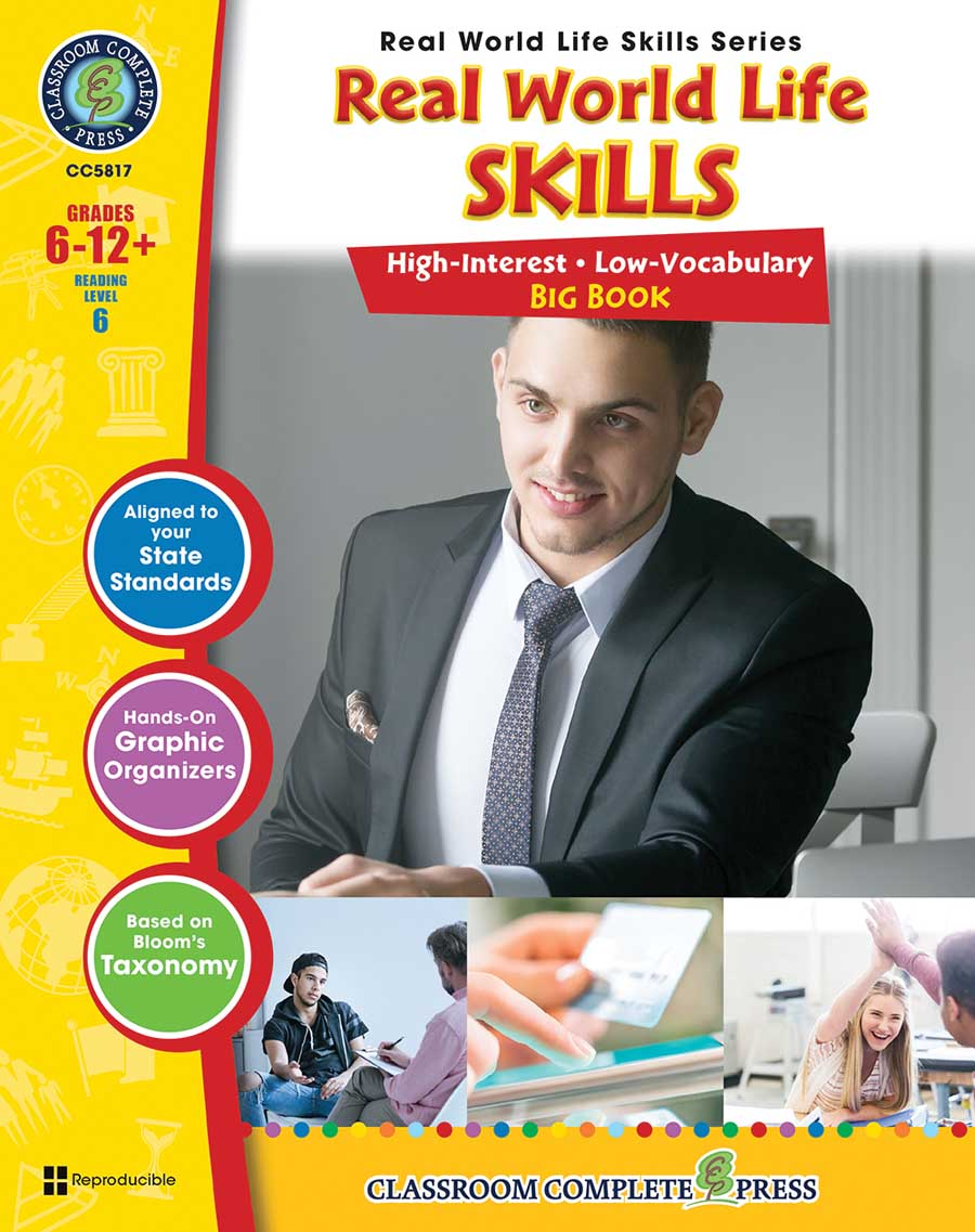 Real World Life Skills Big Book Gr. 6-12+ - print book