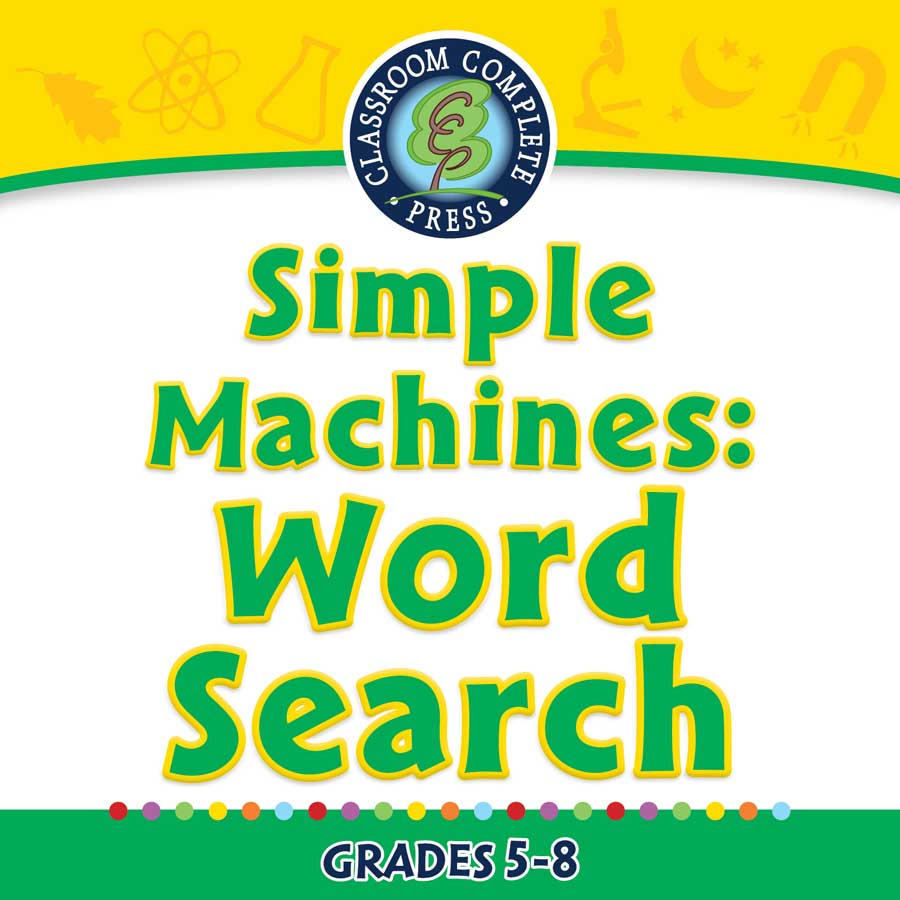 Simple Machines: Word Search - - CCP Interactive