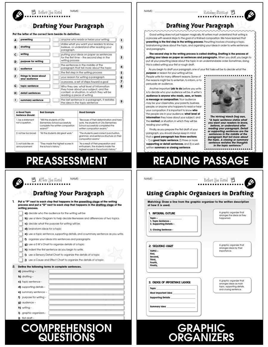 how to write a paragraph pdf