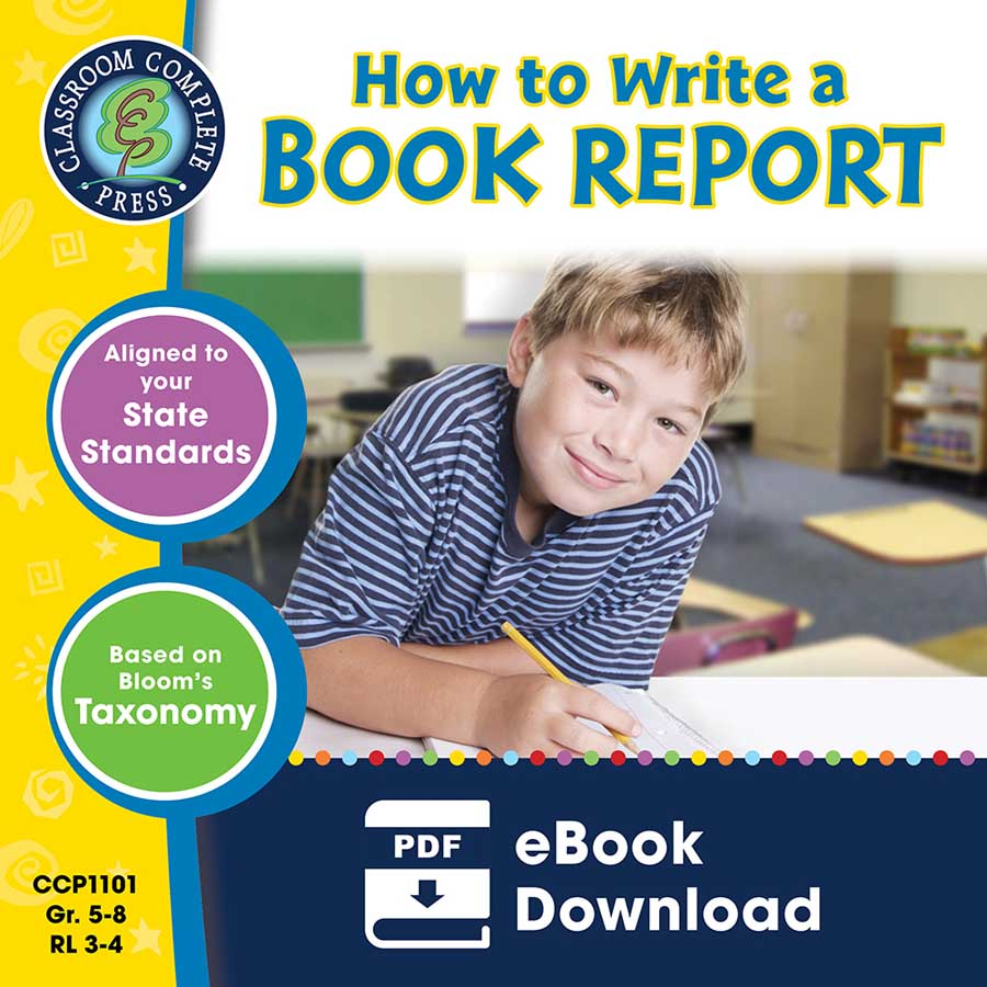 How to Write a Book Report Gr. 5-8 - eBook