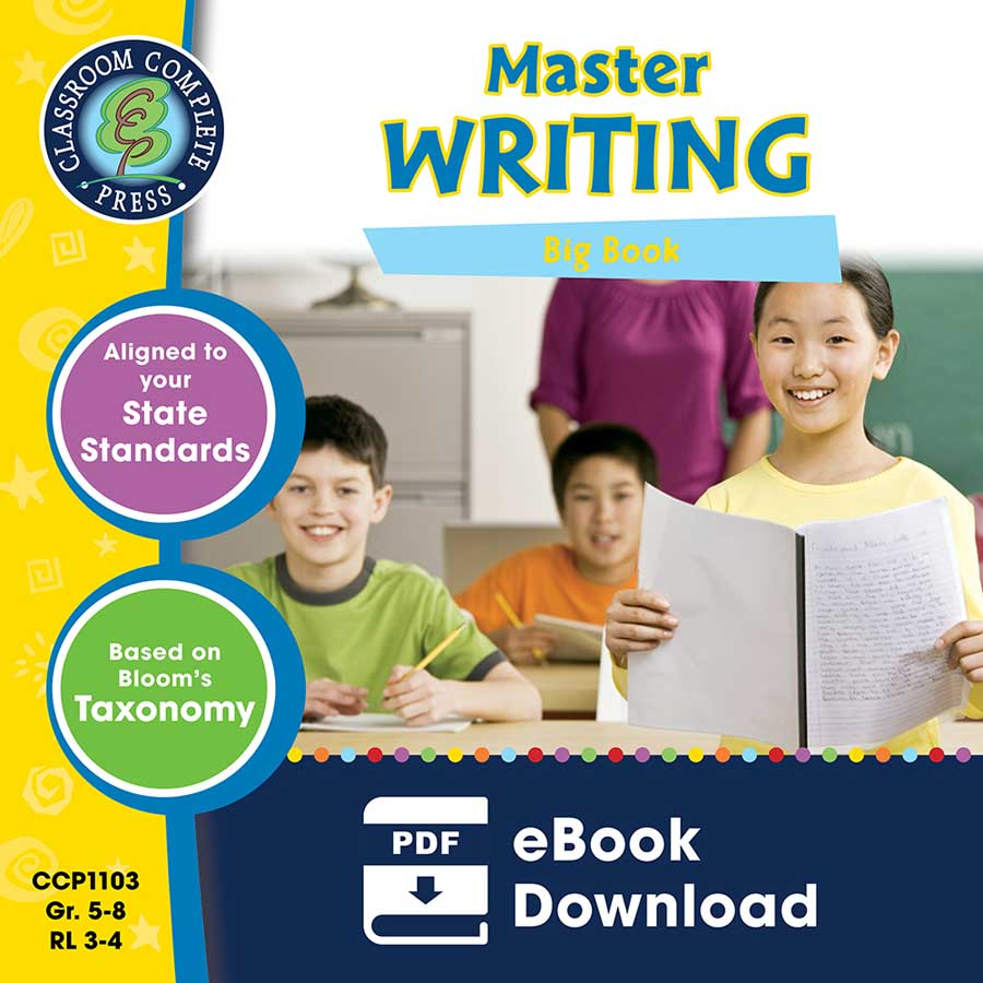 Master Writing Big Book Gr. 5-8 - eBook