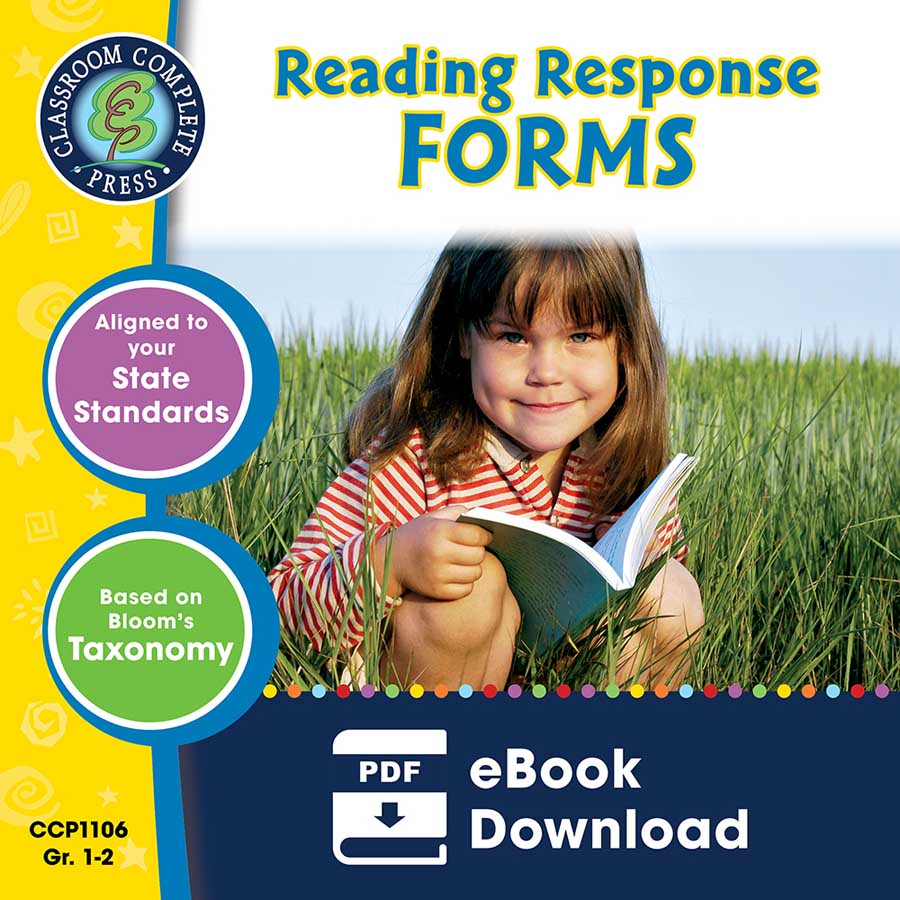 Reading Response Forms Gr. 1-2 - eBook