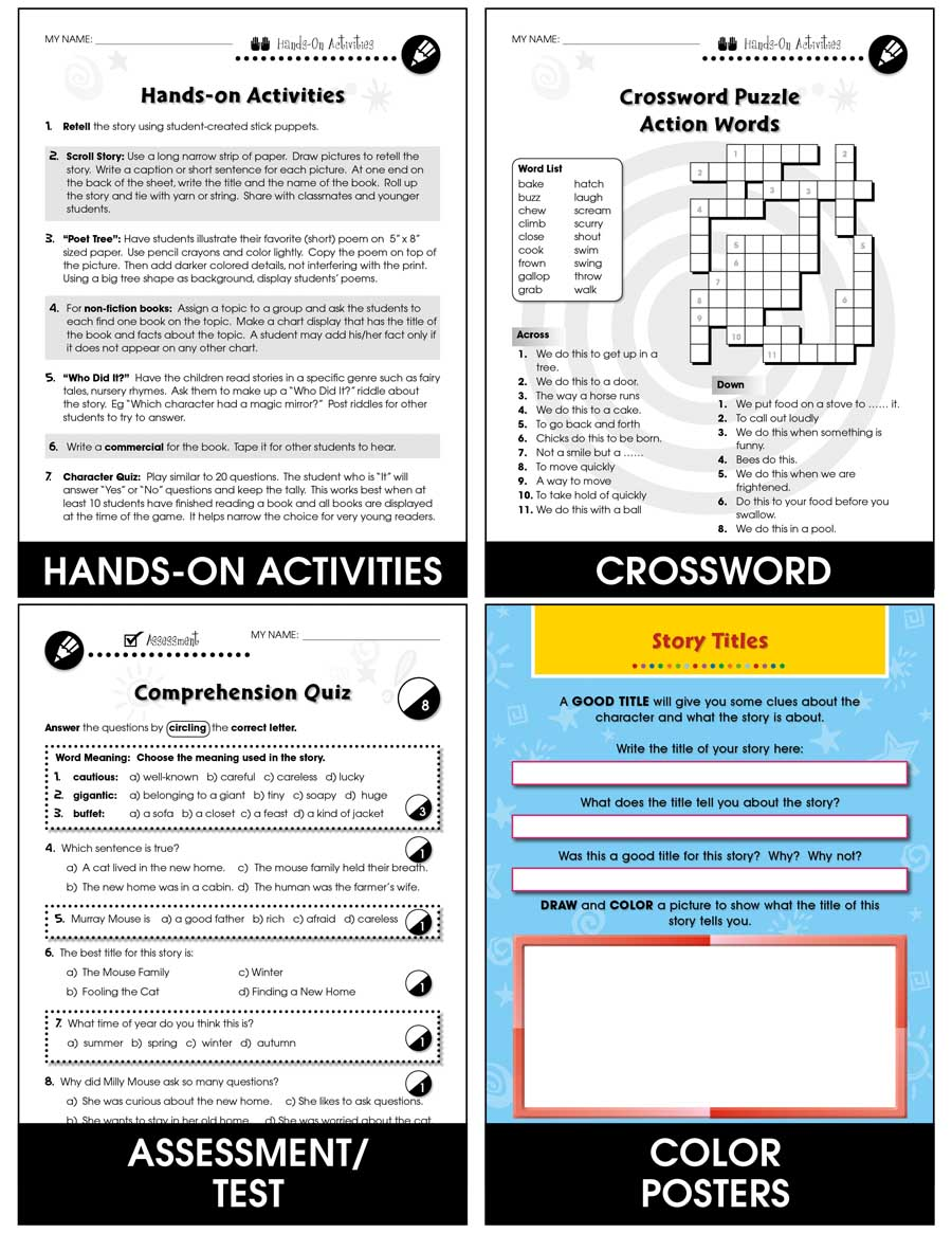 Reading Response Forms: Remembering Gr. 3-4 - Chapter Slice eBook