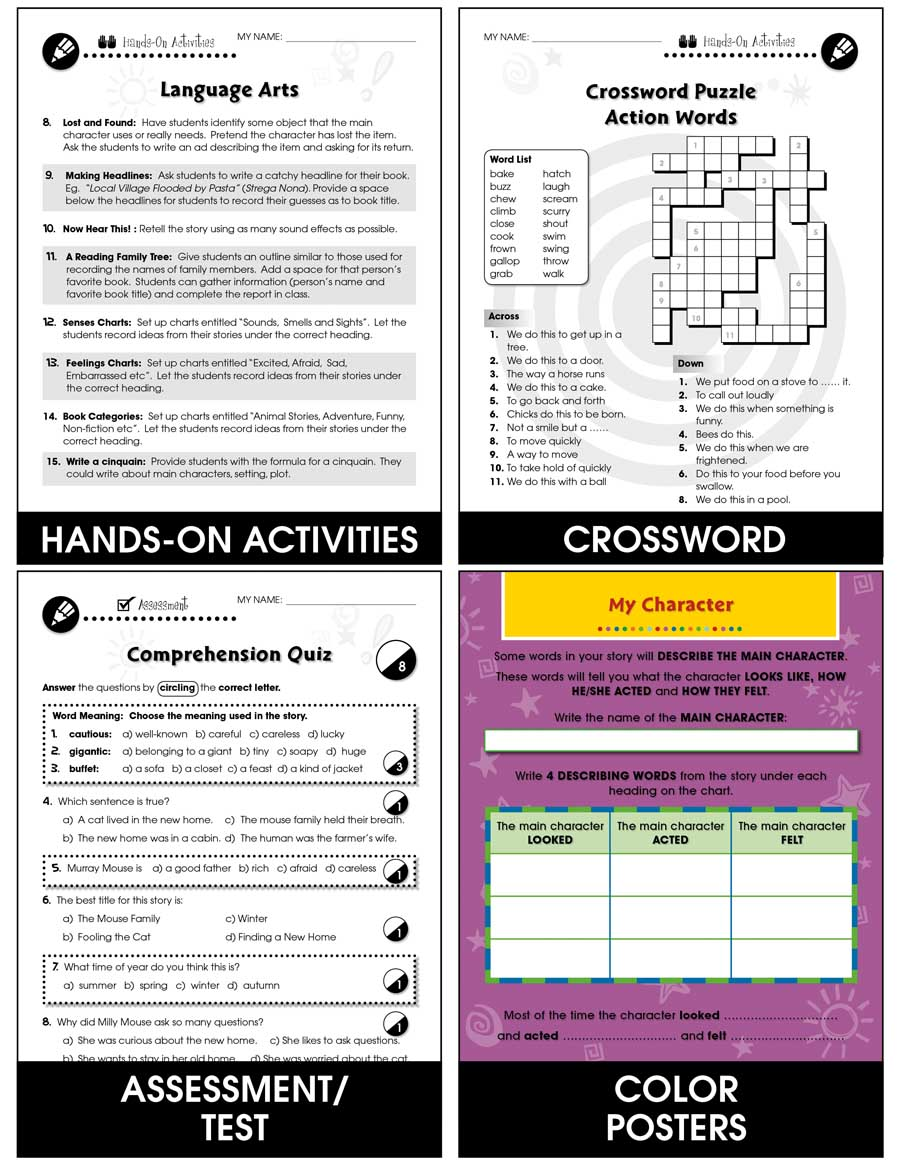 Reading Response Forms: Understanding Gr. 3-4 - Chapter Slice eBook