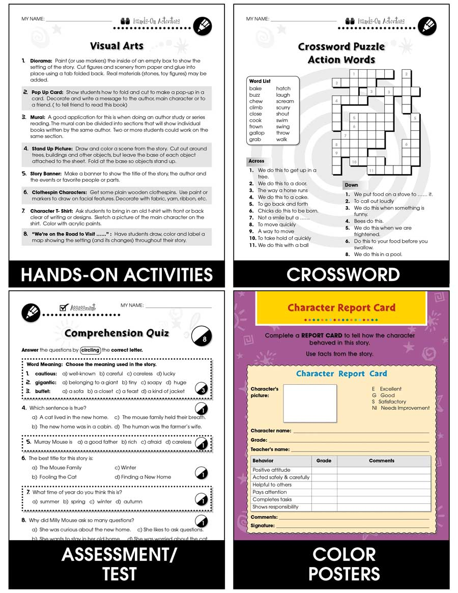 Reading Response Forms: Creating Gr. 3-4 - Chapter Slice eBook