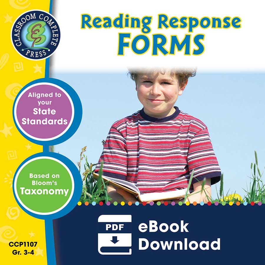 Reading Response Forms Gr. 3-4 - eBook