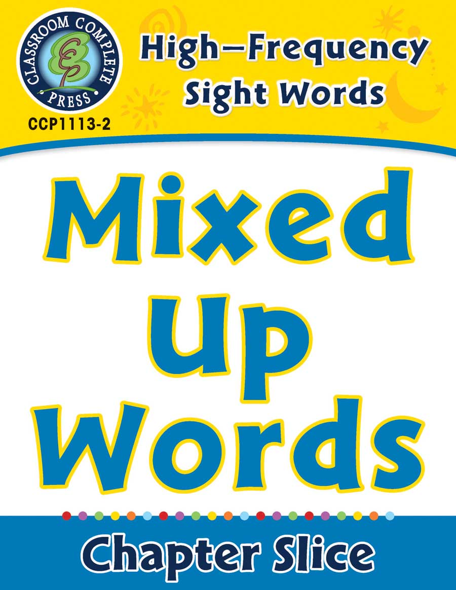 High-Frequency Sight Words: Mixed Up Words - Chapter Slice eBook