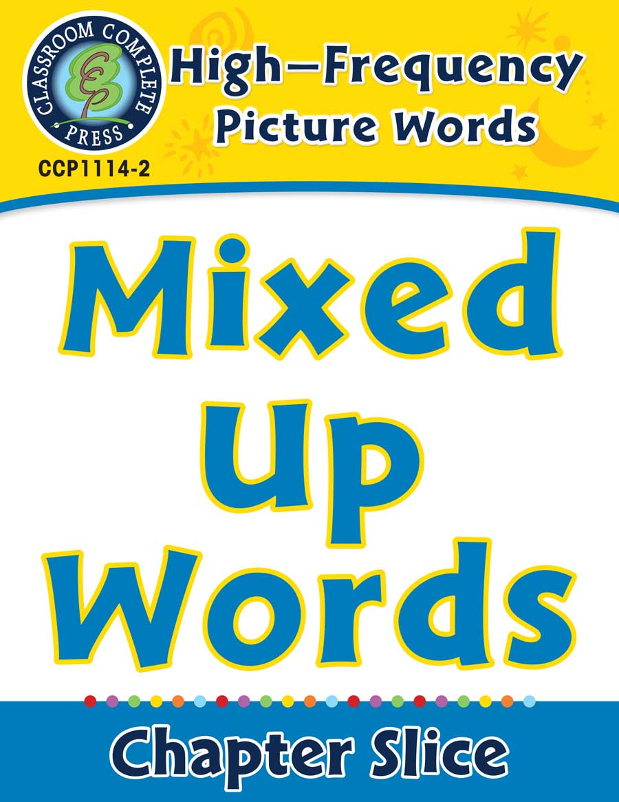 High-Frequency Picture Words: Mixed Up Words - Chapter Slice eBook