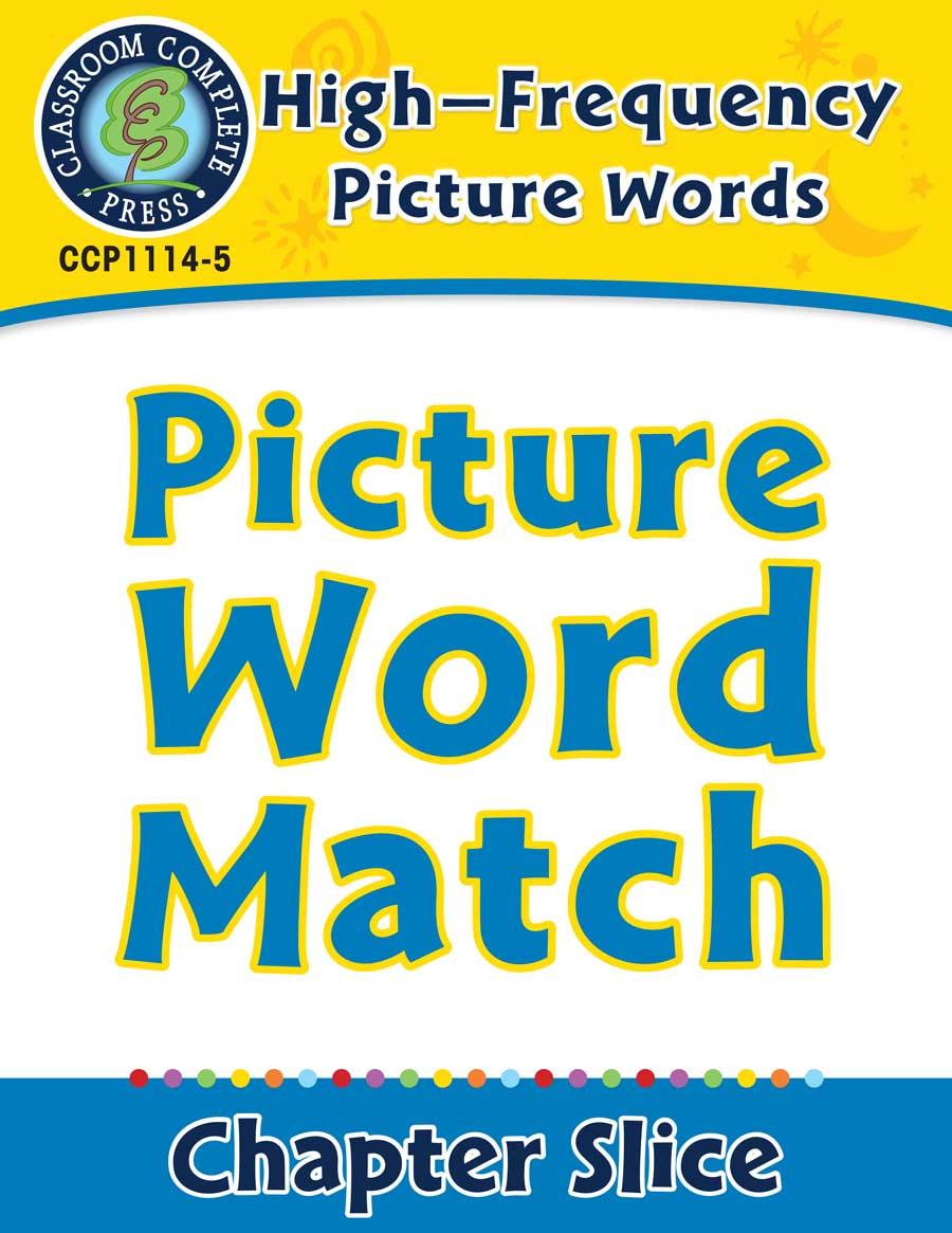 High-Frequency Picture Words: Picture Word Stories - Chapter Slice eBook