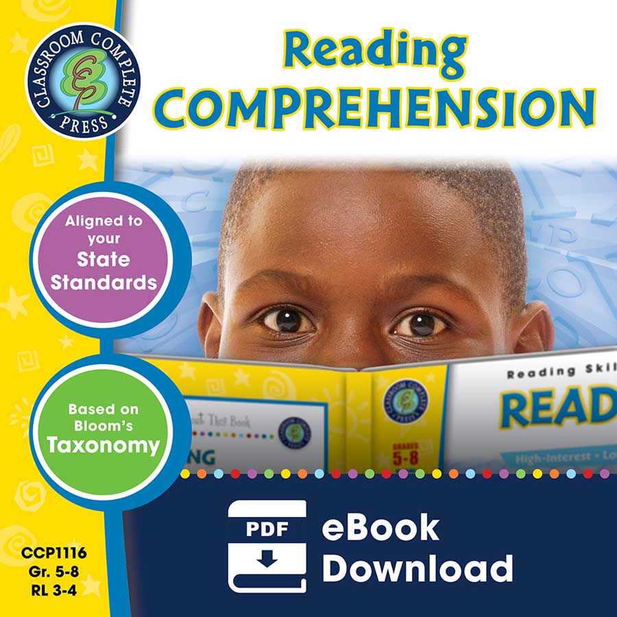 Reading Comprehension Gr. 5-8 - eBook
