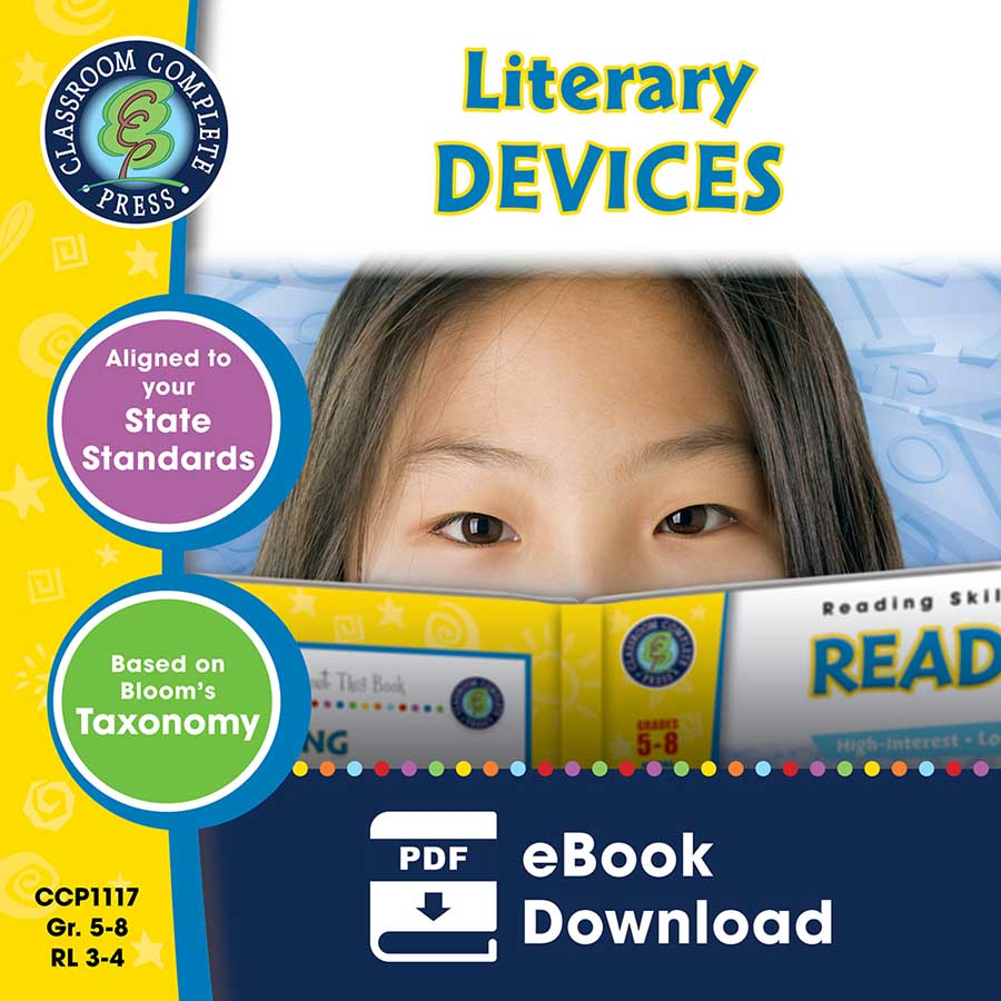 Literary Devices Gr. 5-8 - eBook