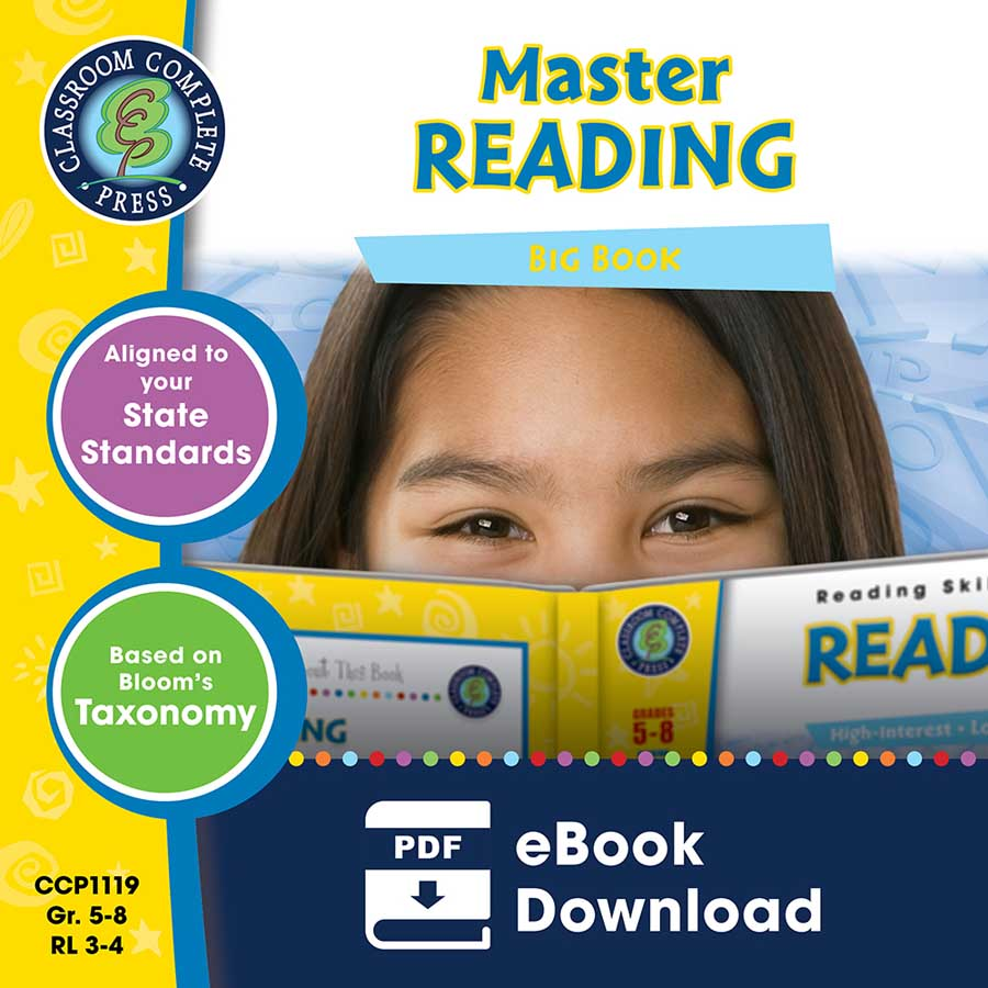 Master Reading Big Book Gr. 5-8 - eBook