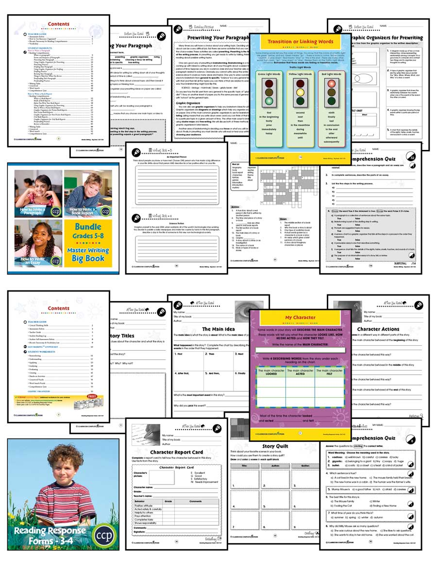 Middle school language arts bundle grades 3 to 8 ebook lesson grades 3 to 8 ebook lesson plan printable sample pages have opened in another window fandeluxe Image collections