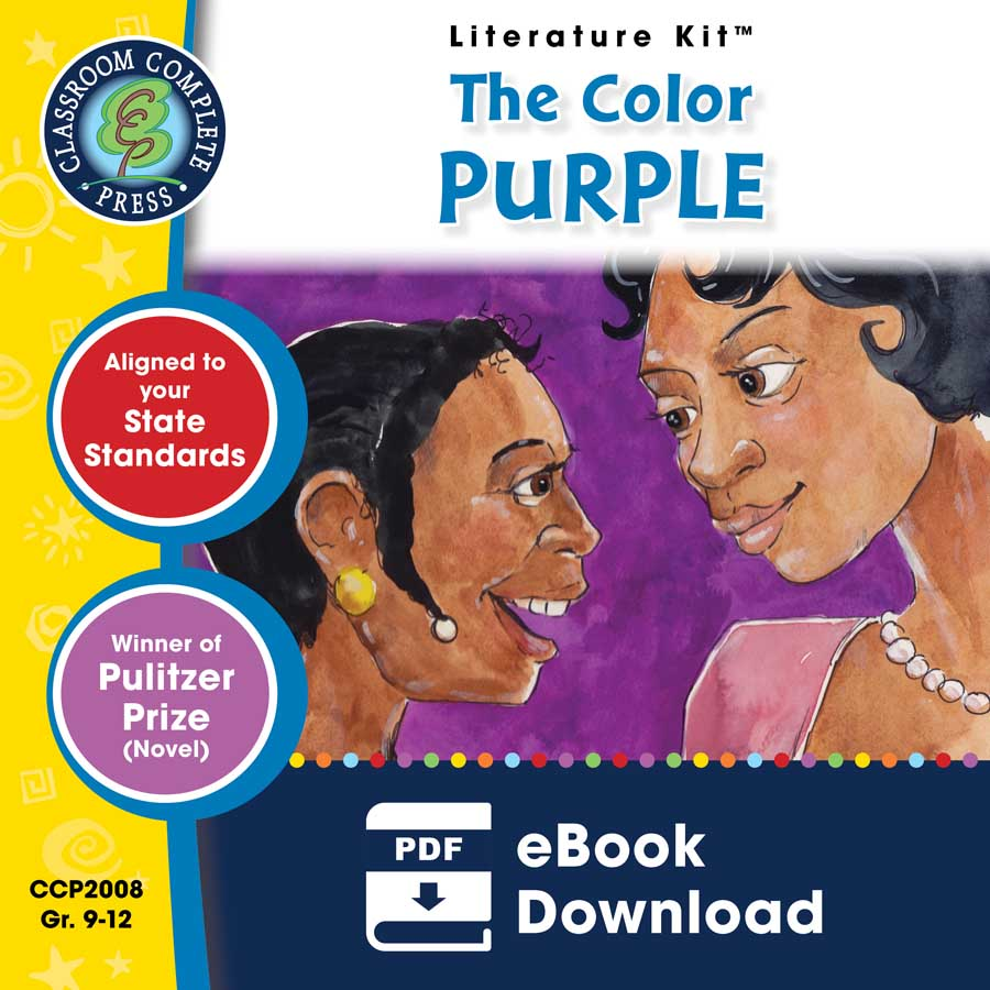 The Color Purple - Literature Kit Gr. 9-12 - eBook