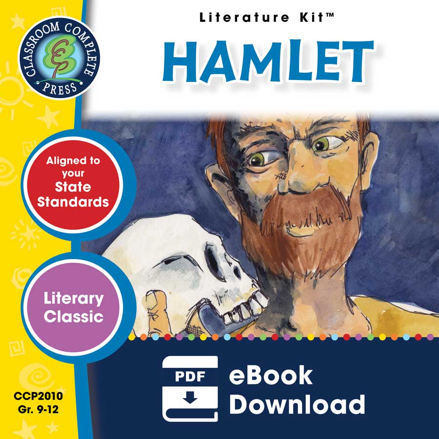Hamlet - Literature Kit Gr. 9-12 - eBook