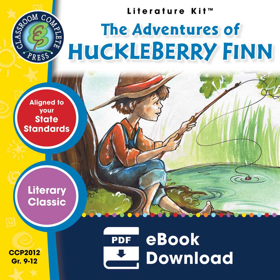 The Adventures of Huckleberry Finn - Literature Kit Gr. 9-12