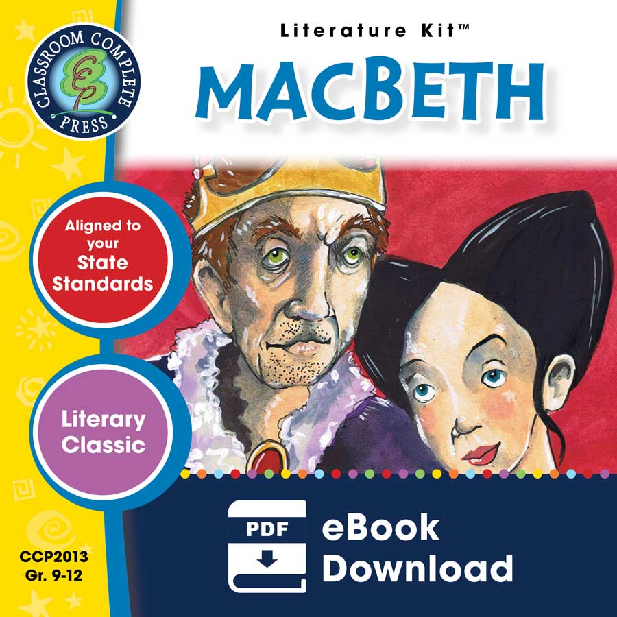 Macbeth - Literature Kit Gr. 9-12 - eBook