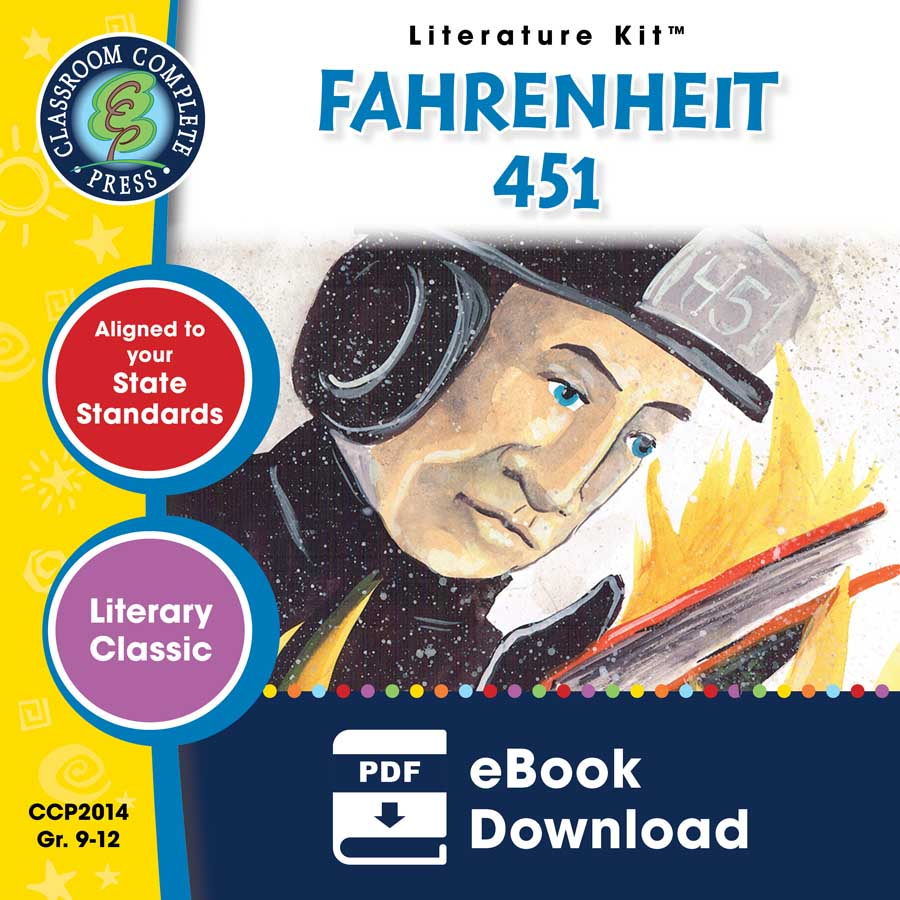 Fahrenheit 451 - Literature Kit Gr. 9-12 - eBook