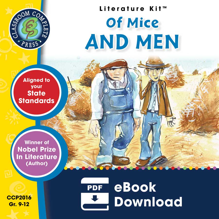 Of Mice and Men - Literature Kit Gr. 9-12 - eBook