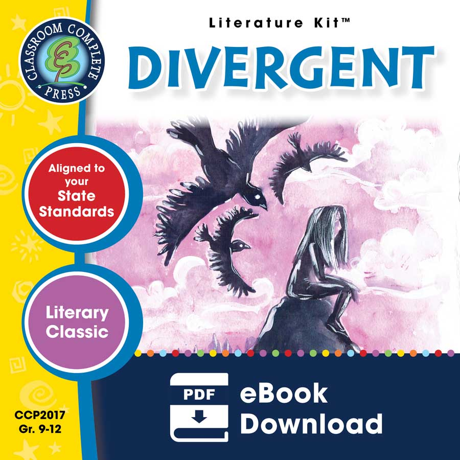 Divergent - Literature Kit Gr. 9-12 - eBook