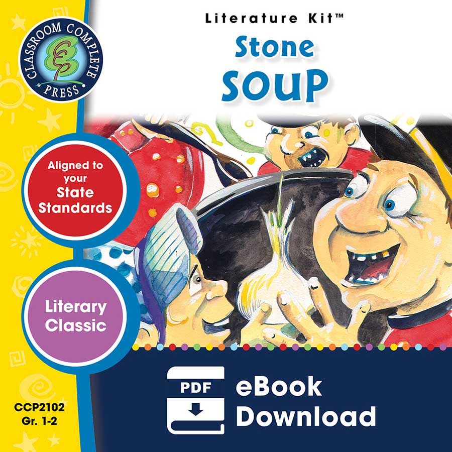Stone Soup - Literature Kit Gr. 1-2 - eBook