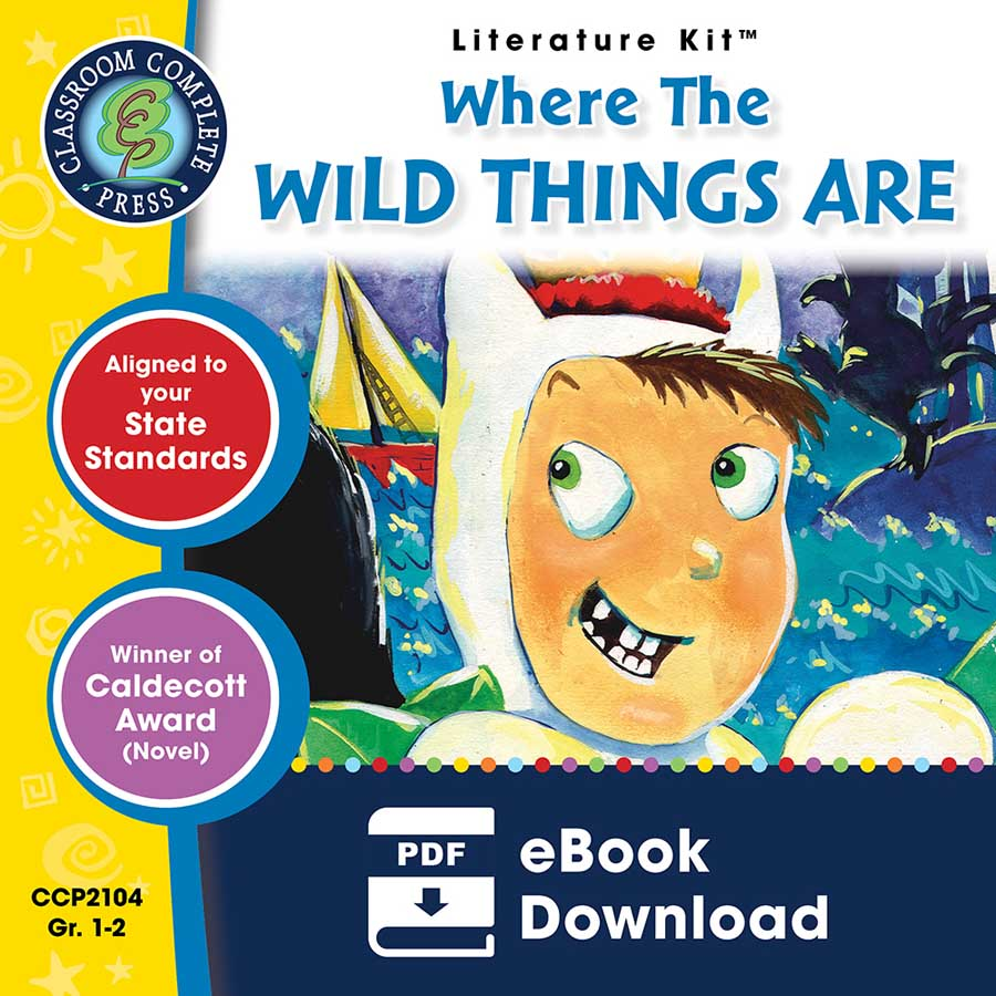 Where the Wild Things Are - Literature Kit Gr. 1-2 - eBook