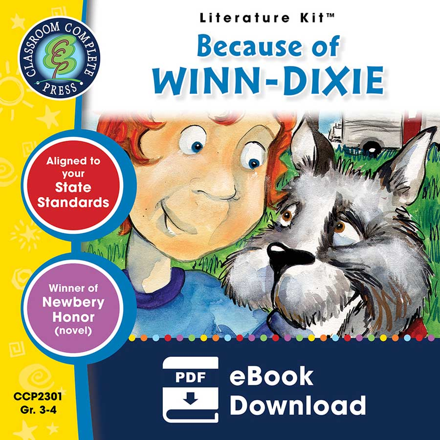 Because of Winn-Dixie - Literature Kit Gr. 3-4 - eBook