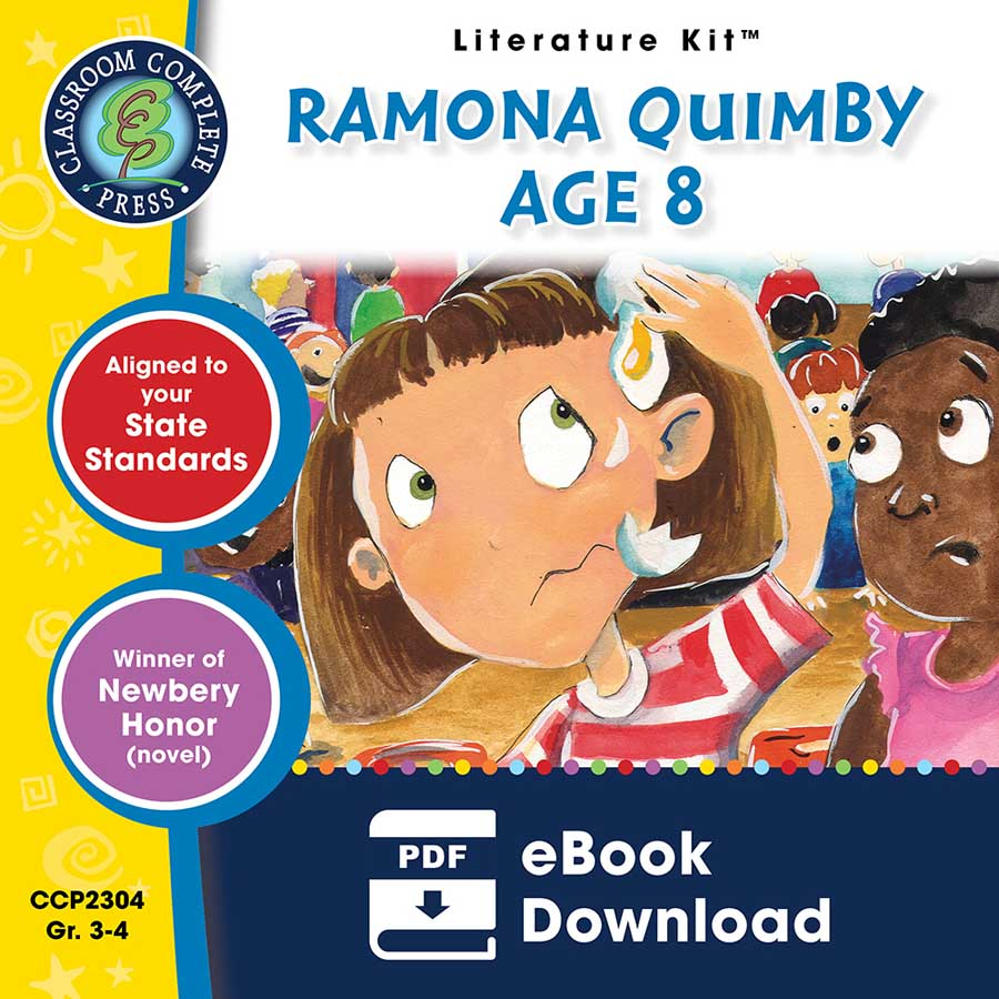 Ramona Quimby, Age 8 - Literature Kit Gr. 3-4 - eBook