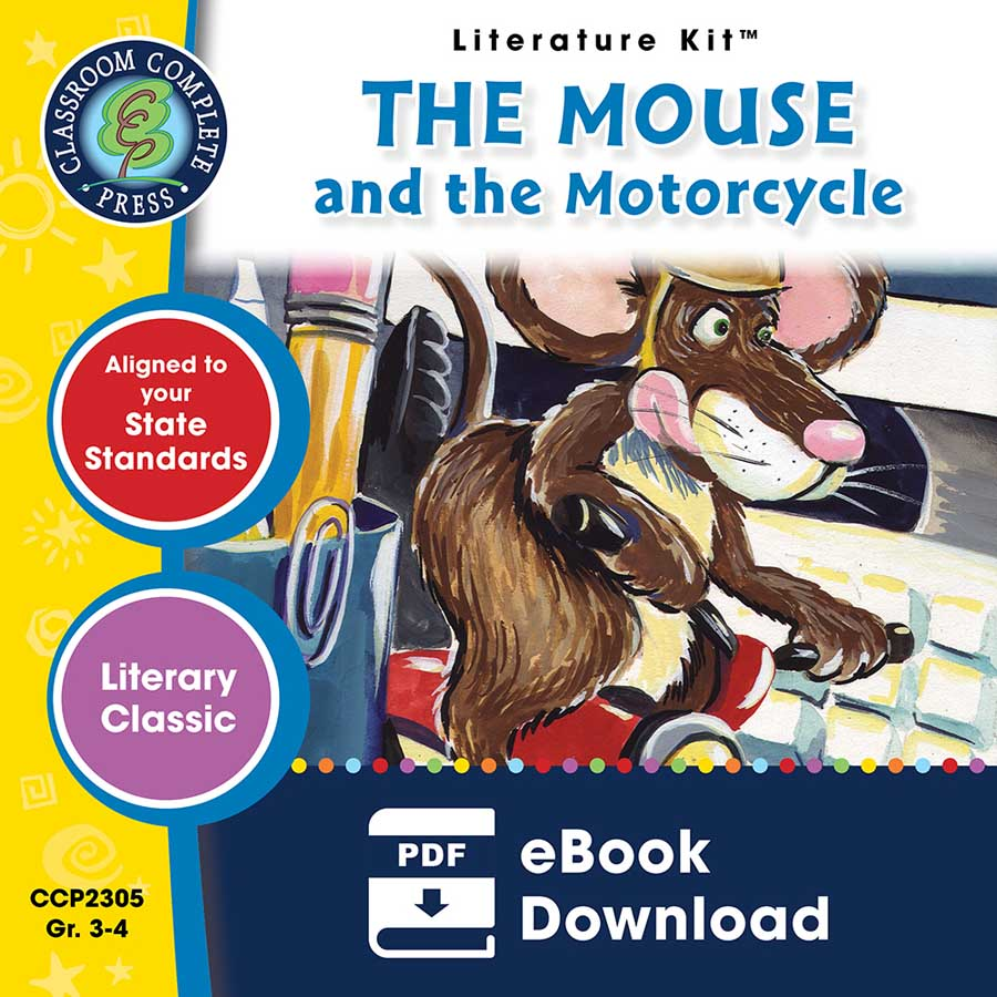 The Mouse and the Motorcycle - Literature Kit Gr. 3-4 - eBook