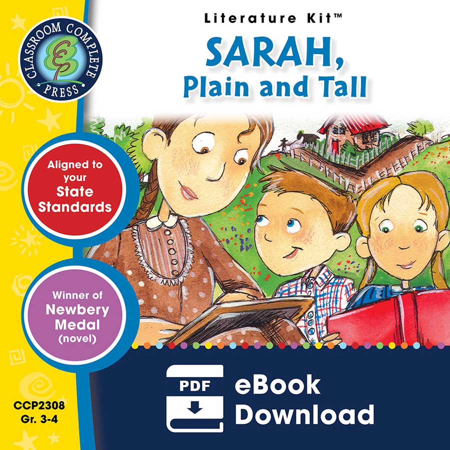 Sarah, Plain and Tall - Literature Kit Gr. 3-4 - eBook
