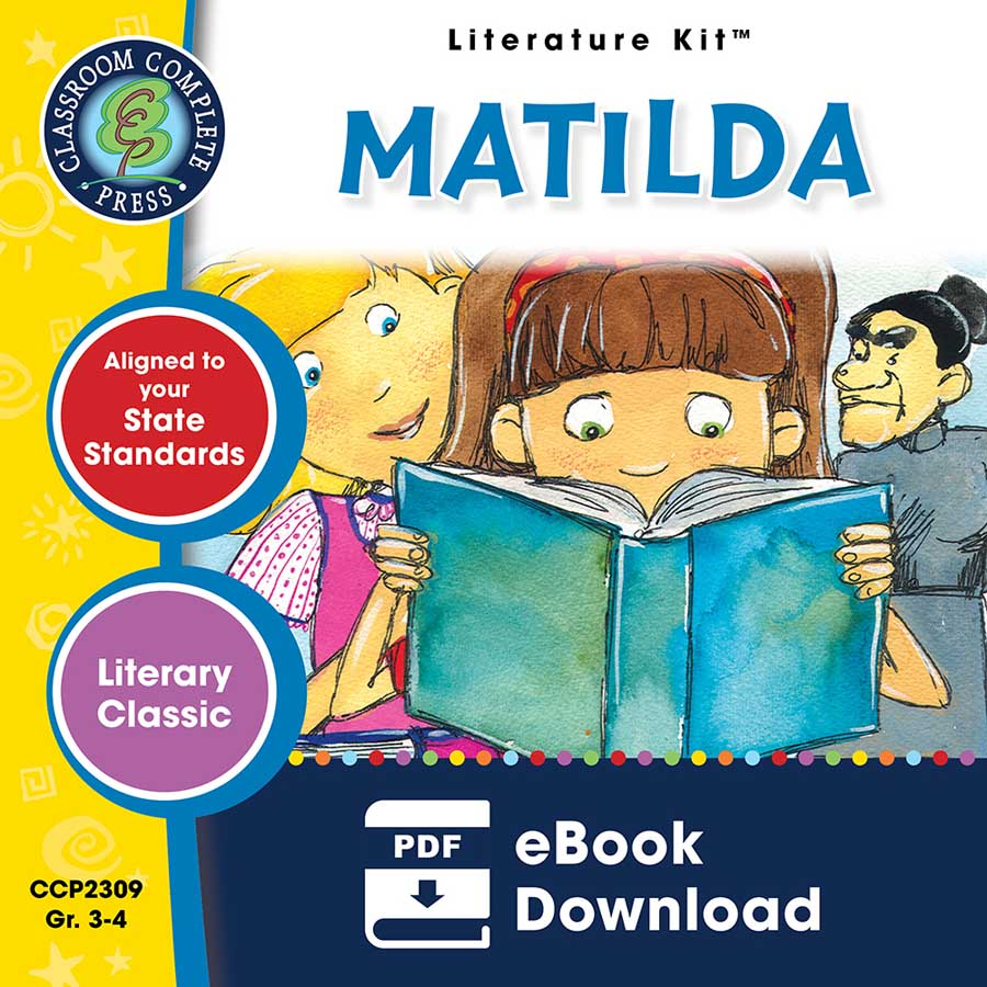 Matilda - Literature Kit Gr. 3-4 - eBook