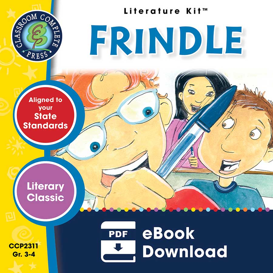 Frindle - Literature Kit Gr. 3-4 - eBook