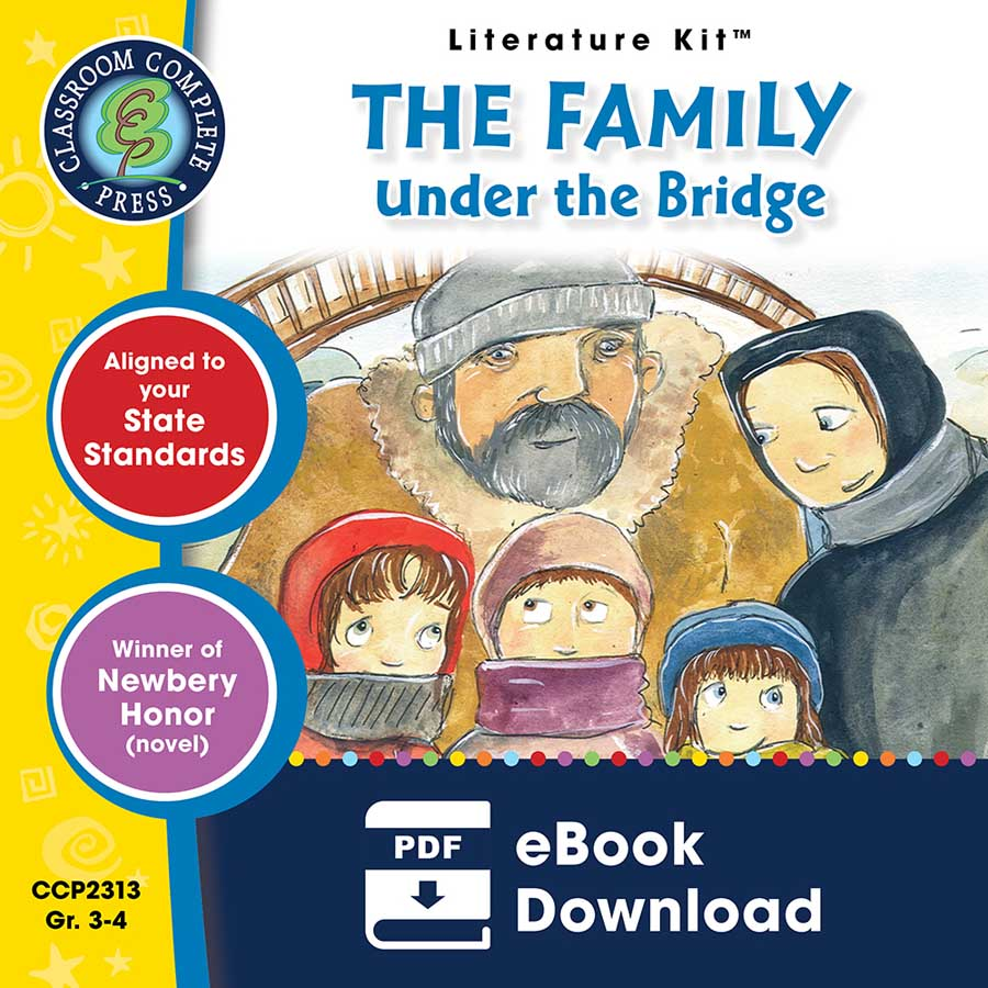 The Family Under the Bridge - Literature Kit Gr. 3-4 - eBook