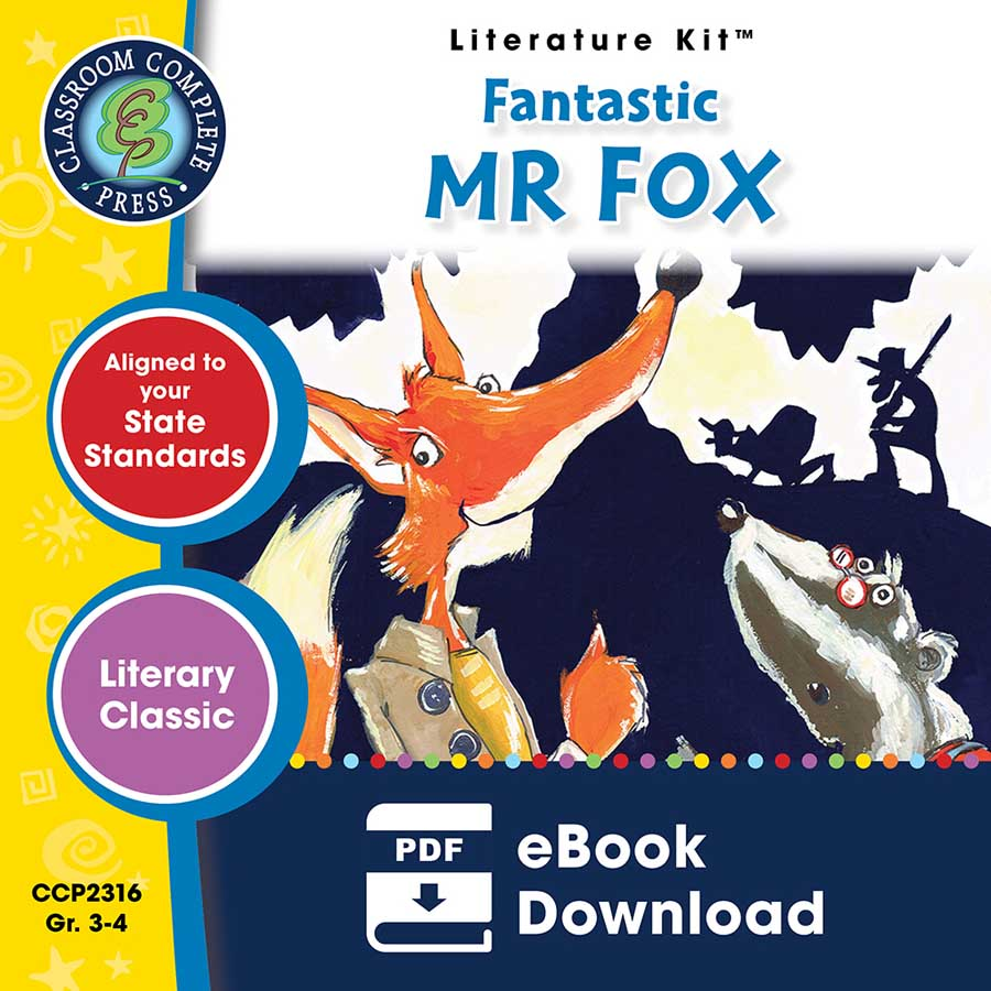 Fantastic Mr Fox - Literature Kit Gr. 3-4 - eBook