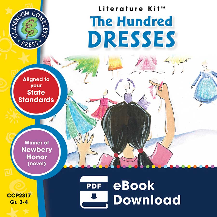 The Hundred Dresses - Literature Kit Gr. 3-4 - eBook