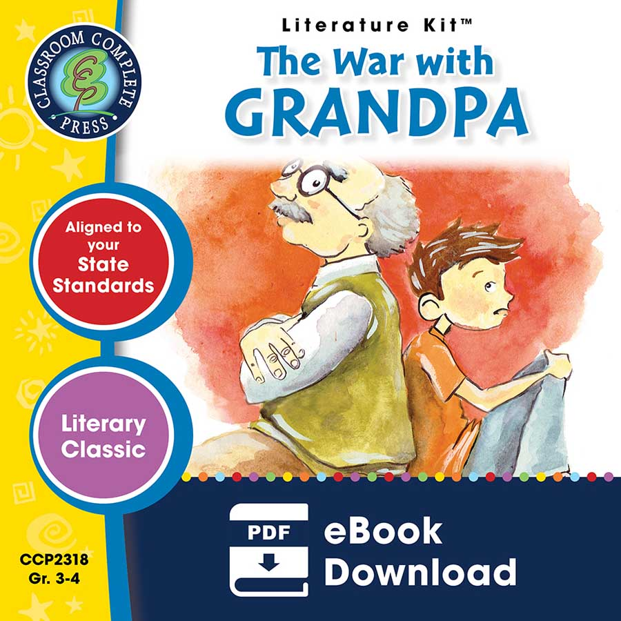 The War with Grandpa - Literature Kit Gr. 3-4 - eBook