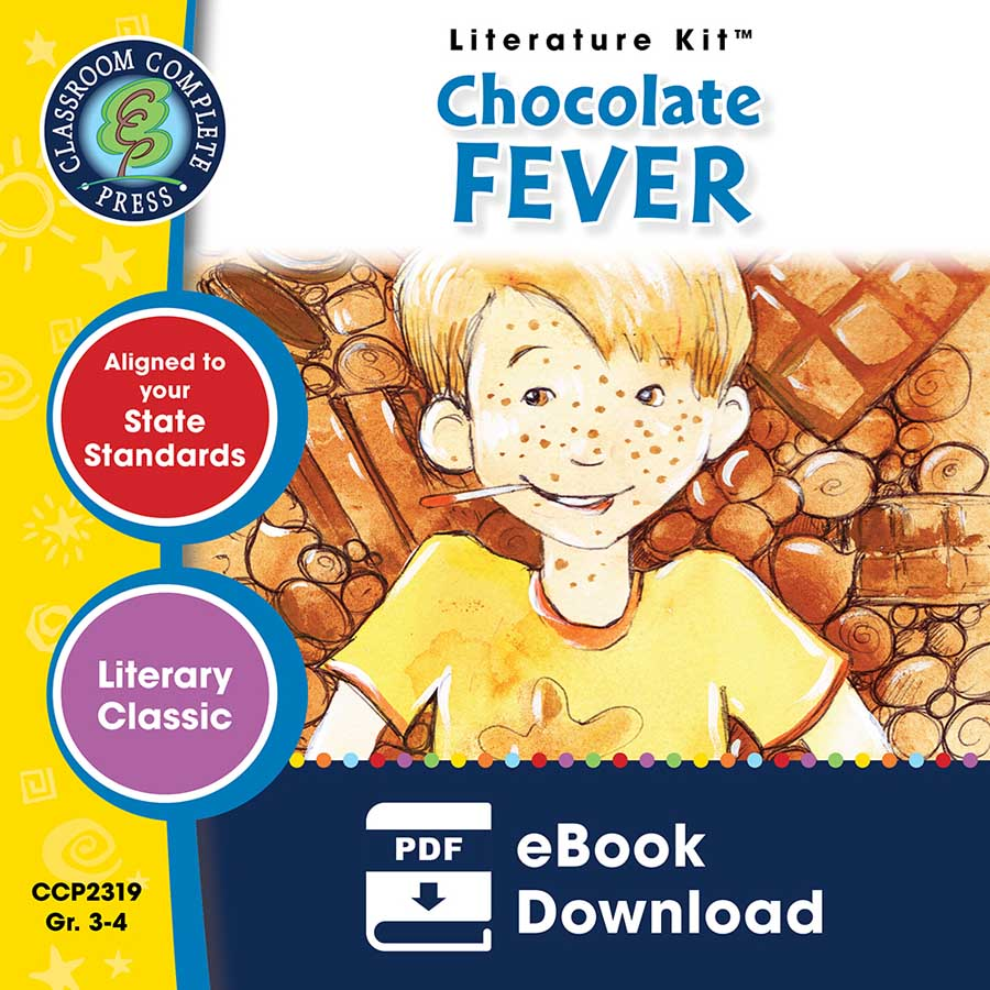 Chocolate Fever - Literature Kit Gr. 3-4 - eBook