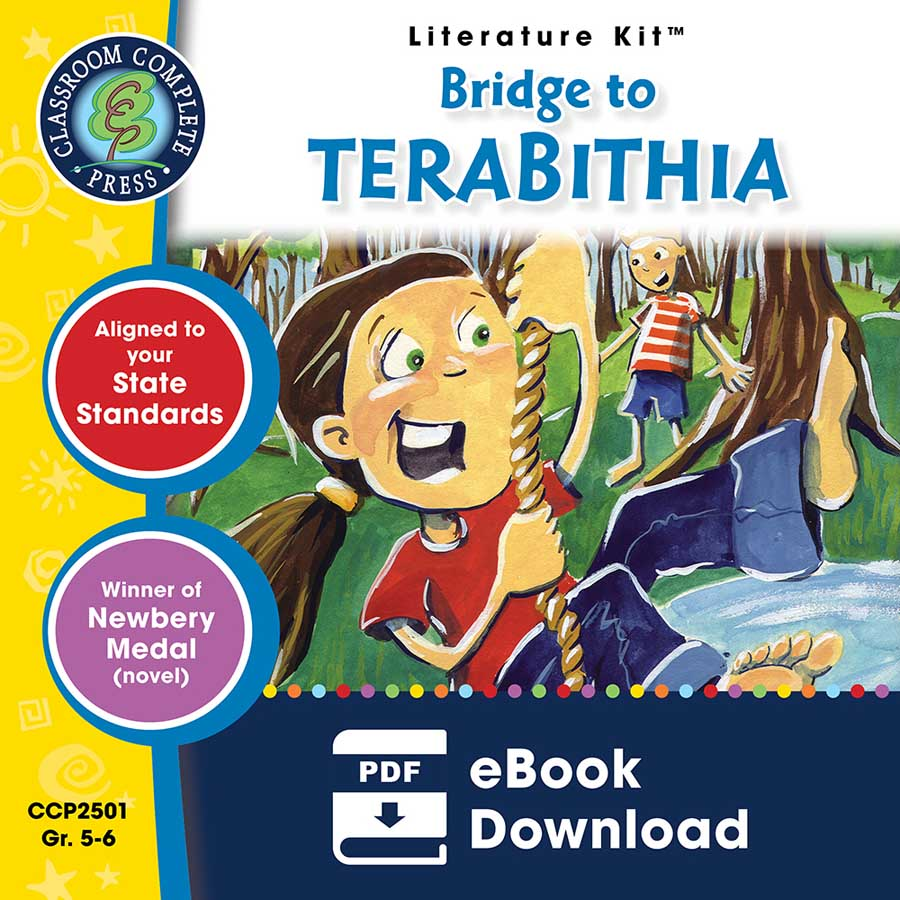 Bridge to Terabithia - Literature Kit Gr. 5-6 - eBook