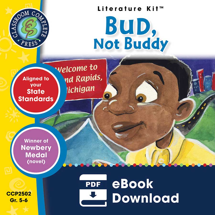 Bud, Not Buddy - Literature Kit Gr. 5-6 - eBook
