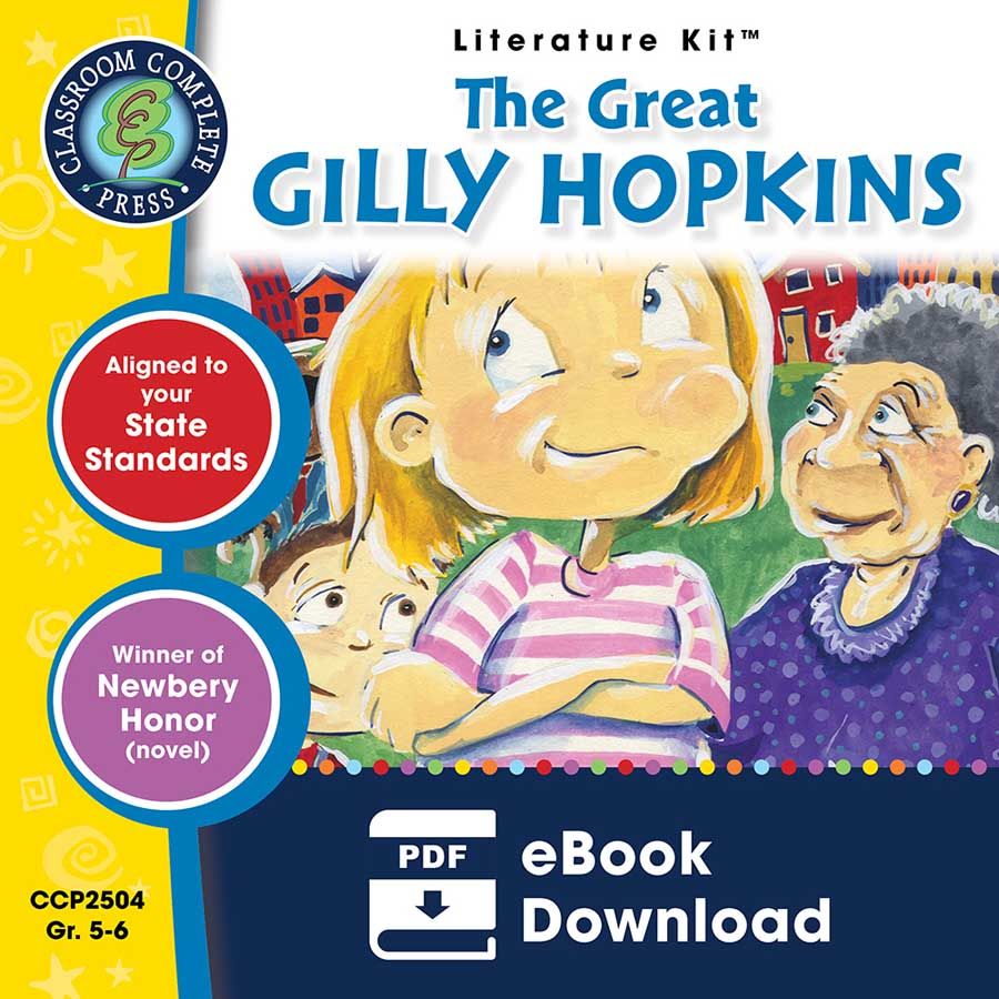 The Great Gilly Hopkins - Literature Kit Gr. 5-6 - eBook