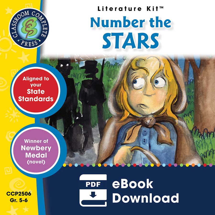 Number the Stars - Literature Kit Gr. 5-6 - eBook