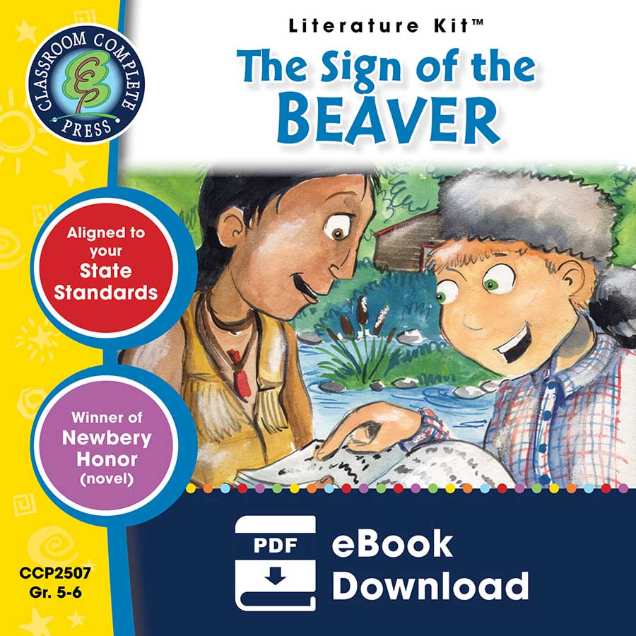 Grade 5 6 ccp interactive ready made lessons the sign of the beaver literature kit gr 5 6 ebook fandeluxe Images