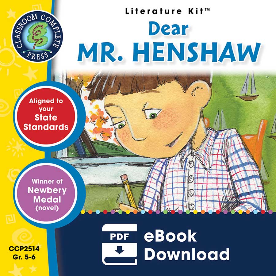 Dear Mr. Henshaw - Literature Kit Gr. 5-6 - eBook