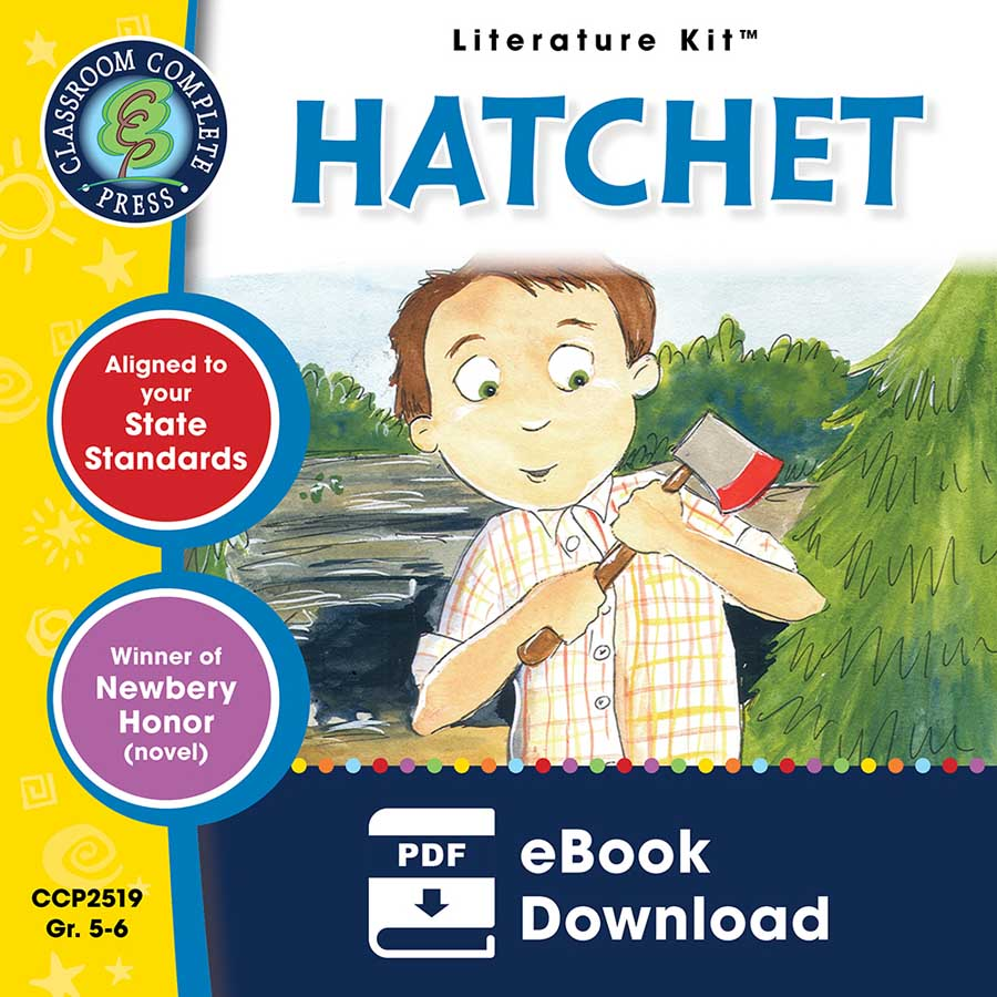 Hatchet - Literature Kit Gr. 5-6 - eBook