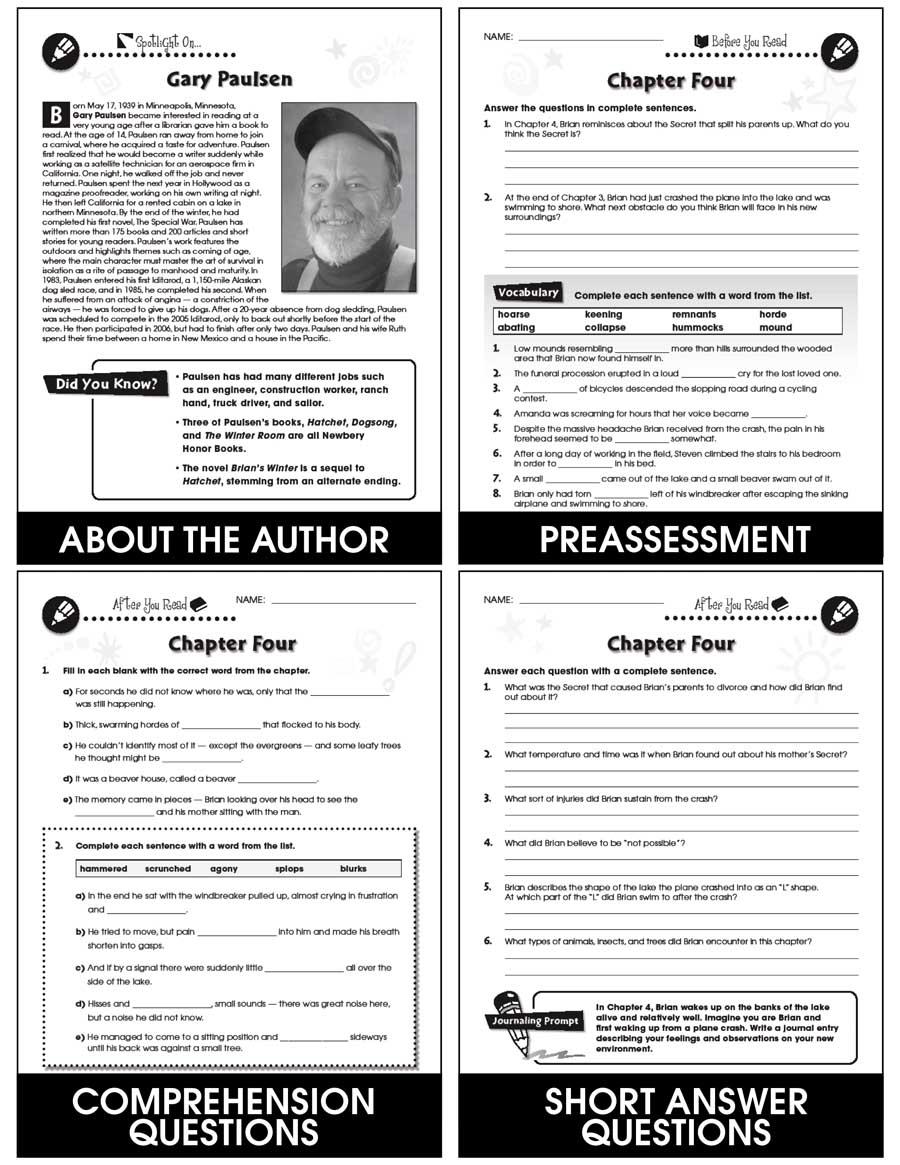 Hatchet - Literature Kit Gr. 5-6 - eBook
