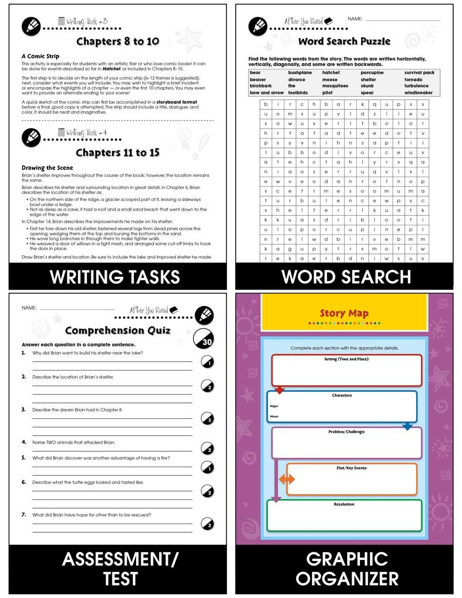 Hatchet Summary & Study Guide - BookRags.com | Study ...