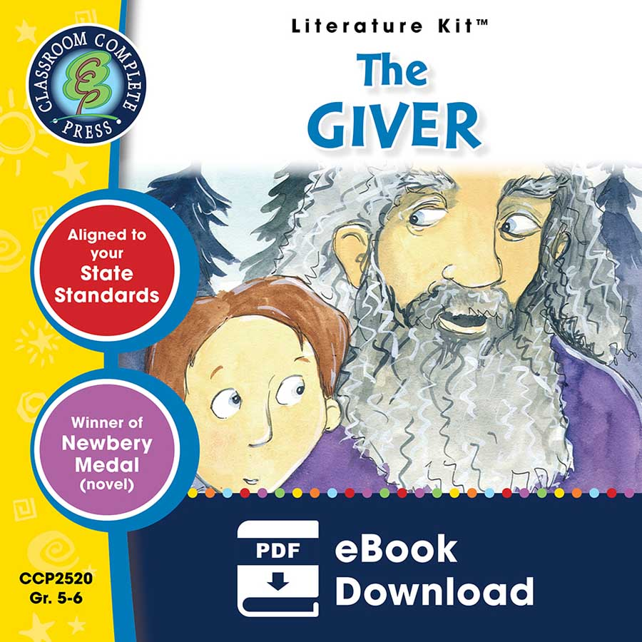 The Giver - Literature Kit Gr. 5-6 - eBook