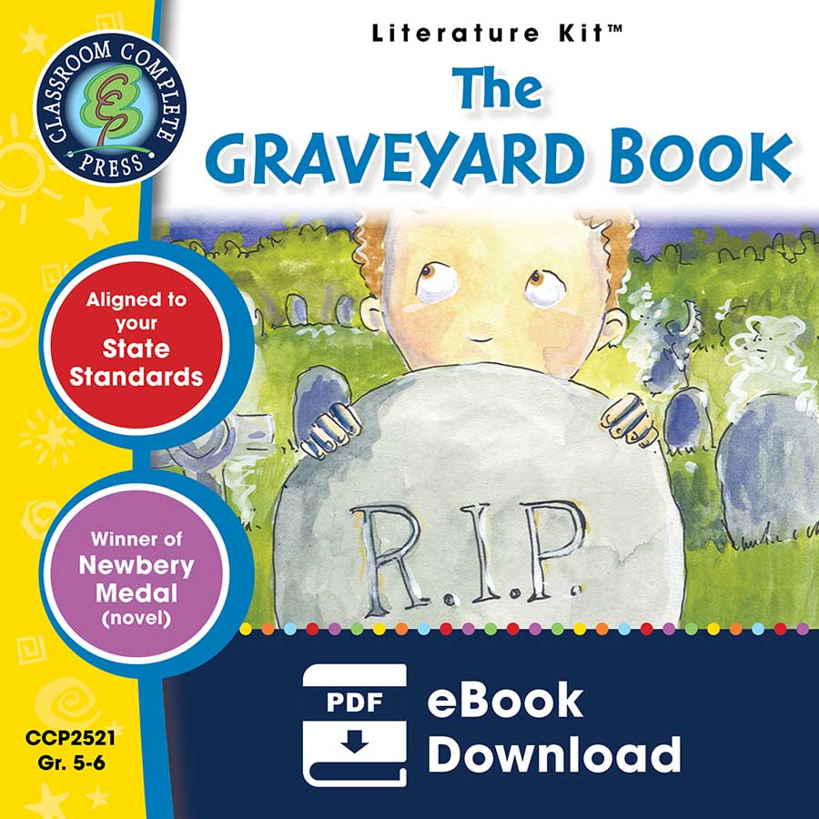 The Graveyard Book - Literature Kit Gr. 5-6 - eBook
