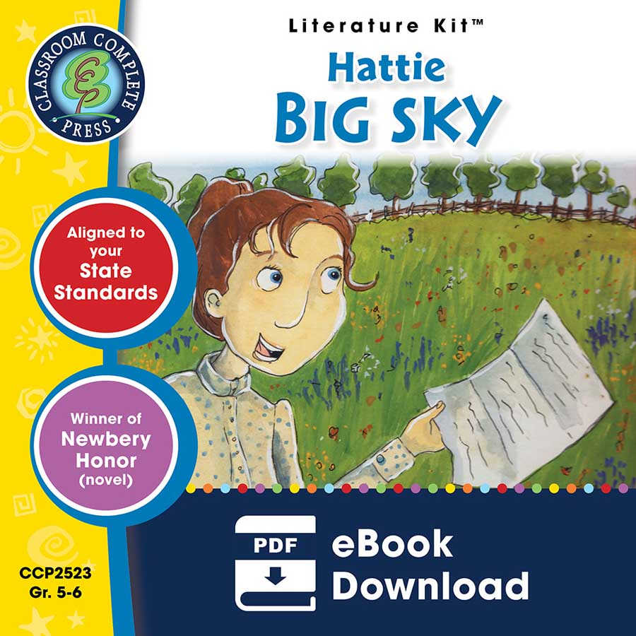 Hattie Big Sky - Literature Kit Gr. 5-6 - eBook